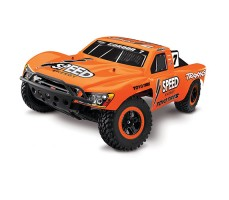 RC машина Traxxas Slash 1/10 2WD VXL TSM Orange