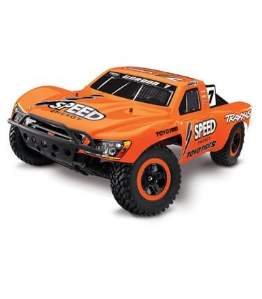 RC машина Traxxas Slash 1/10 2WD VXL TSM Orange | Купить, цена, отзывы