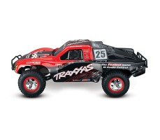 фото RC машины Traxxas Slash 1/10 2WD VXL TSM Red сбоку