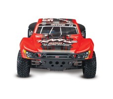 фото RC машины Traxxas Slash 1/10 2WD VXL TSM Red спереди