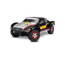 Радиоуправляемая машина TRAXXAS Slash 1/16 4WD Black-Yellow