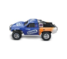 фото RC машины Traxxas Slash 1/10 2WD Blue сбоку