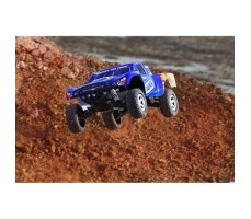 фото RC машины Traxxas Slash 1/10 2WD Blue в движении