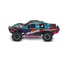 фото RC машины Traxxas Slash 1/10 2WD Multicolor сбоку