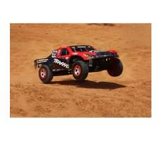 фото RC машины Traxxas Slash 1/10 2WD Red в движении