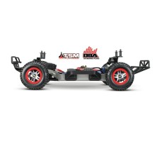 фото шасси RC машины Traxxas Slash 1/10 4WD VXL TSM OBA Black