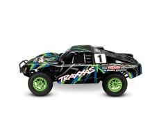 Радиоуправляемая машина TRAXXAS Slash 4x4 1/10 Green
