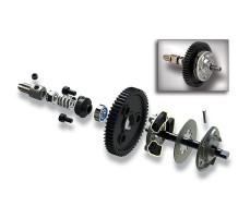 фото сцепления деталей RC машины Traxxas Slash 4x4 Platinum 1/10 VXL LCG