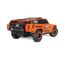 фото RC машины Traxxas Slash Dakar Series Robby Gordon Gordini 1/10 2WD сзади