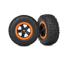 фото колес RC машины Traxxas Slash Dakar Series Robby Gordon Gordini 1/10 2WD