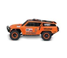 фото RC машины Traxxas Slash Dakar Series Robby Gordon Gordini 1/10 2WD сбоку