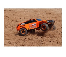 фото RC машины Traxxas Slash Dakar Series Robby Gordon Gordini 1/10 2WD в движении