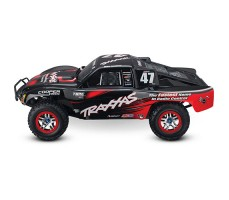 фото RC машины Traxxas Slash Ultimate 1/10 4WD VXL TQi Black сбоку