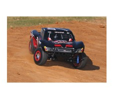фото RC машины Traxxas Slash Ultimate 1/10 4WD VXL TQi Black в движении