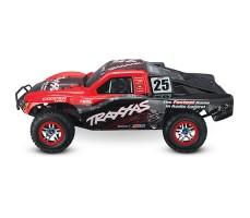 фото RC машины Traxxas Slash Ultimate 1/10 4WD VXL TQi Red сбоку