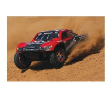фото RC машины Traxxas Slash Ultimate 1/10 4WD VXL TQi Red в движении