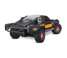 фото RC машины Traxxas Slash Ultimate 1/10 4WD VXL TQi Silver сзади