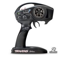 фото аппаратуры управления радиоуправляемой машины Traxxas Stampede 4x4 1/10 VXL TSM Plus