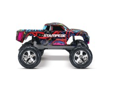 фото RC машины Traxxas Stampede Courtney Force Edition 1/10 2WD сбоку