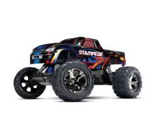 RC машина Traxxas Stampede VXL 1/10 2WD TSM Black/Blue