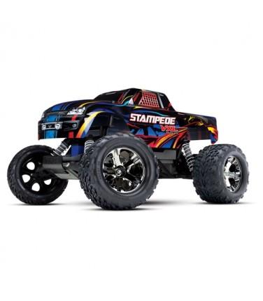 RC машина Traxxas Stampede VXL 1/10 2WD TSM Black/Blue | Купить, цена, отзывы