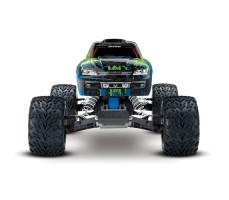 фото радиоуправляемой машины Traxxas Stampede VXL 1/10 2WD TSM Blue спереди