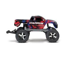 фото радиоуправляемой машины Traxxas Stampede VXL 1/10 2WD TSM Red