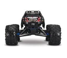 фото радиоуправляемой машины  Traxxas Summit 1/10 4WD Black спереди