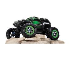 фото радиоуправляемой машины  Traxxas Summit 1/10 4WD Green сбоку