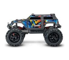 фото Радиоуправляемая машина TRAXXAS  Summit 1/16 4WD + светотехника