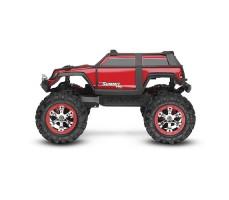 фото радиоуправляемой машины Traxxas Summit 1/16 4WD VXL TSM Plus Red сбоку