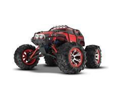 фото радиоуправляемой машины Traxxas Summit 1/16 4WD VXL TSM Plus Red