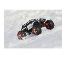 фото радиоуправляемой машины Traxxas Summit 1/16 4WD VXL TSM Plus White в движении