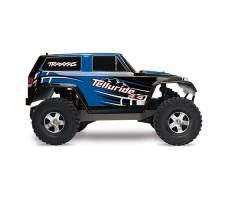 фото RC машины Traxxas Telluride 1/10 4WD Blue сбоку