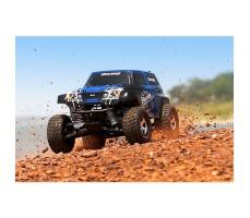 фото RC машины Traxxas Telluride 1/10 4WD Blue в движении