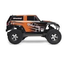 фото RC машины Traxxas Telluride 1/10 4WD Orange сбоку