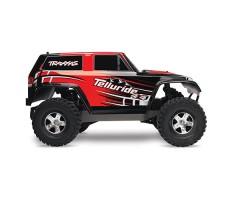 фото RC машины Traxxas Telluride 1/10 4WD Red сбоку