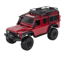 Радиоуправляемая машина TRAXXAS TRX-4 Land Rover Defender 1/10 4WD Scale and Trail Crawler Red