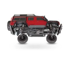 фото Радиоуправляемая машина TRAXXAS TRX-4 Land Rover Defender 1/10 4WD Scale and Trail Crawler Red