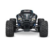 фото радиоуправляемой машины Traxxas X-Maxx 1/5 4WD 8S TSM Blue спереди