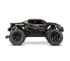фото радиоуправляемой машины Traxxas X-Maxx 1/5 4WD 8S TSM Green сбоку