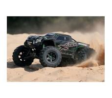 фото радиоуправляемой машины Traxxas X-Maxx 1/5 4WD 8S TSM Green в движении
