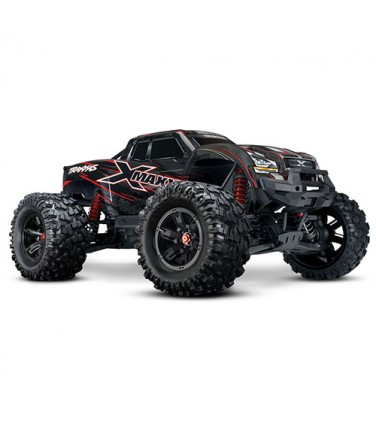 Радиоуправляемая машина Traxxas X-Maxx 1/5 4WD TSM Red | Купить, цена, отзывы