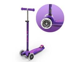 Детский самокат MAXI MICRO DELUXE LED Purple