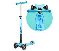 Детский самокат MAXI MICRO DELUXE Складной T-BAR Blue