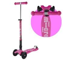 Детский самокат MAXI MICRO DELUXE Складной T-BAR Pink Neon