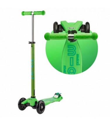 Детский самокат MAXI MICRO DELUXE Green   Купить, цена, отзывы