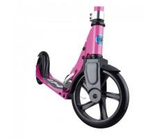 фото складного самоката Micro Cruiser Pink вид на переднее колесо