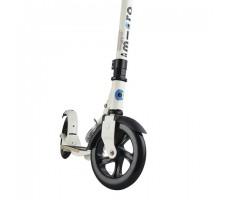 фото переднего колеса самоката Micro Flex 200мм Cream