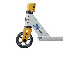 фото колесо переднее Самокат MICRO MX TRIXX 2.0 Gray Yellow